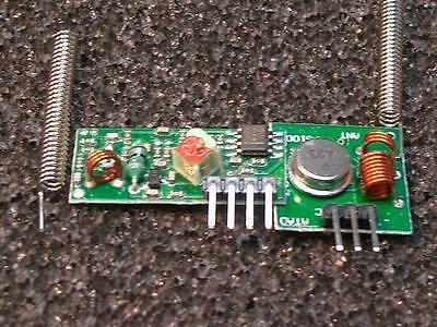 433 MHz Sender/Transmitter & Empfänger/Receiver Arduino ARM, + 2 St. Antenne--