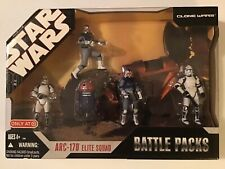 ARC-170 Elite Squad BATTLE Packs STAR WARS 30th Anniversary MIB