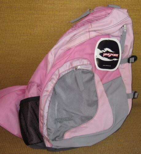 JanSport Backpack*NEW* Sling Style Shoulder BAG Pack PINK or PURPLE School
