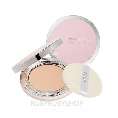 [MISSHA] The Style Fitting Wear Two Way Cake - #23 Natural Beige (SPF27 PA++)