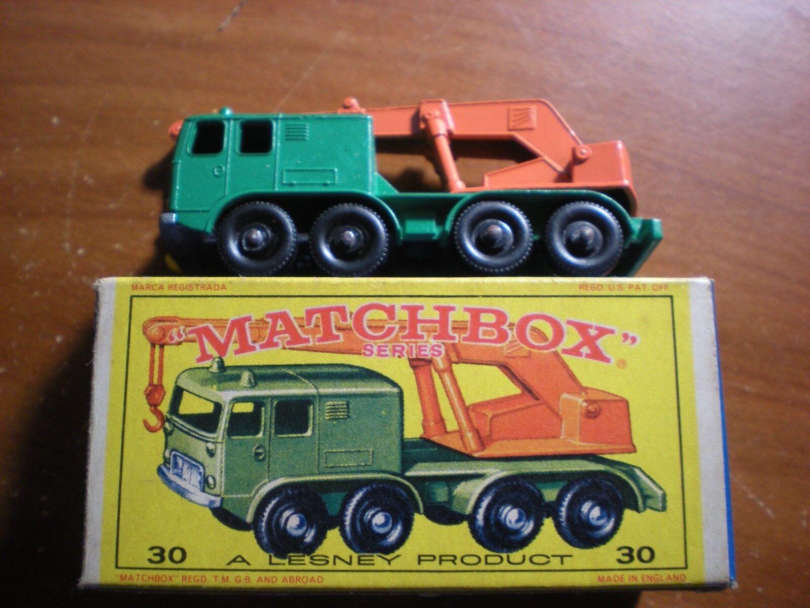 grandes ahorros Vintage Nuevo Y Y Y En Caja Matchbox  30 8 ruedas grúa  minoristas en línea