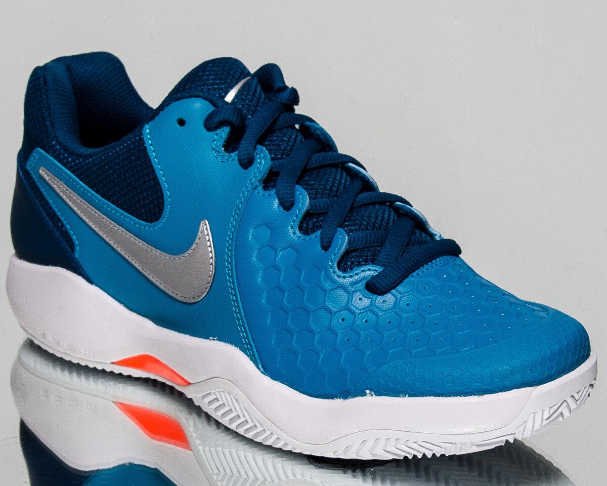 Nike Air Zoom Resistance Clay Men Neo Turq Metallic Silber Tennis 922064-400