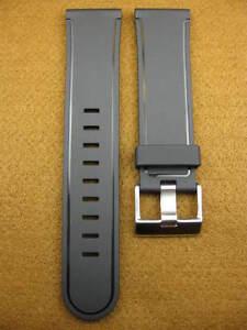 New-24mm-Black-HQ-Rubber-Diver-Strap-Band-XL-Large-BREITLING-AVENGER