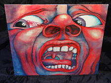 King Crimson In The Court Of The Crimson King SEALED USA 1978 LP W/ HYPE STICKE