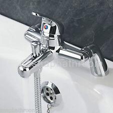 New Modern Chrome Bath Filler Hand Held Shower Mixer Tap Bathroom Taps
