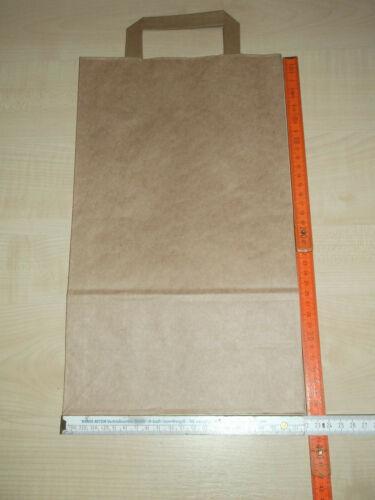 20 Papiertüten Einkaufstüten 22+11x36cm-70gr.