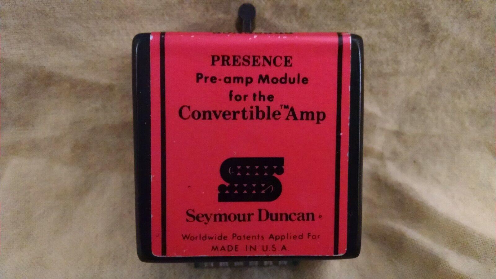 Seymour Duncan ConGrünible 100 Amp Presence Module
