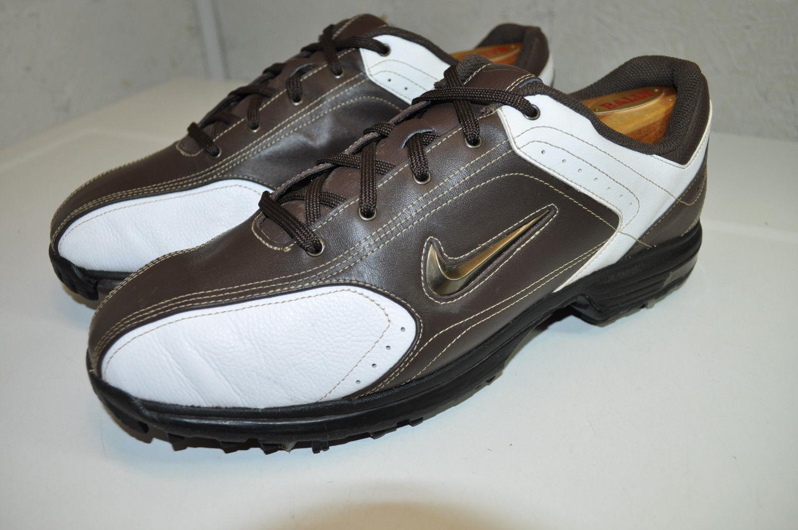 NIKE Golf Schuhe Neu Braun Sneaker Tour Classic Gr:40 US:7 Outsole 336038-101
