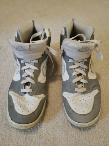 NIKE DUNK HIGH REFLECTIVE US 11.5 WHITE / SILVER 3