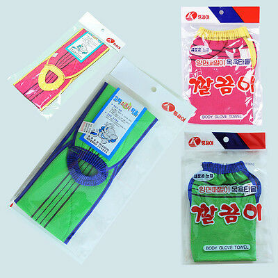 Body peeling exfoliating glove back towel Korean bath towel mitten clean skin