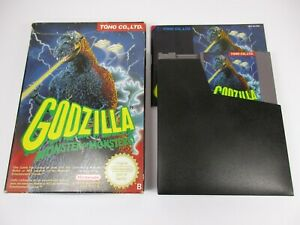 GODZILLA-MONSTER-OF-MONSTERS-NINTENDO-NES-Jeu-Nes-Complet-Fra