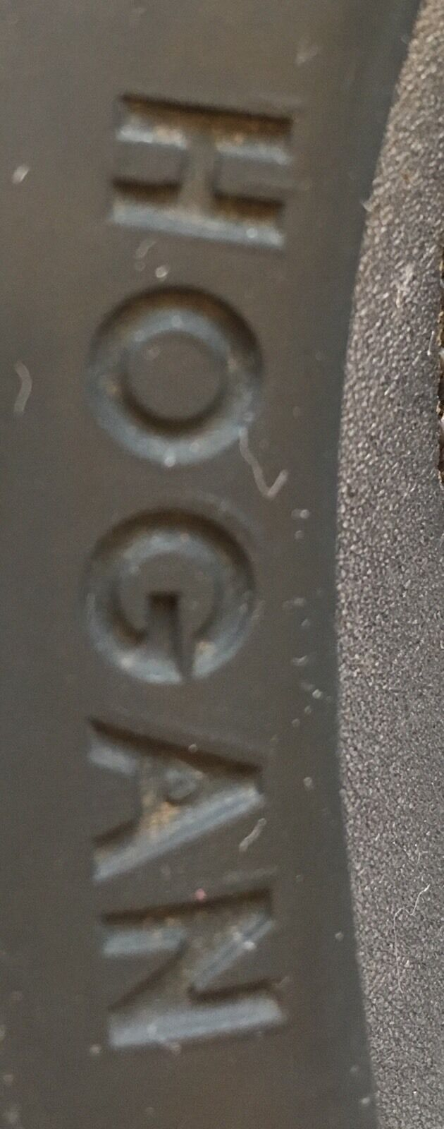 HOGAN Scarpe Uomo Nero Scarpe HOGAN Da Ginnastica in Pelle scamosciata con inserti in Tessuto High Tech Taglia 8UK RRP 975a43