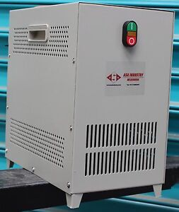 Details about 1 5 kW - Rotary phase changer converter - 240V Single Phase  to Three Phase 415V