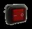 L/'Eau Densité Interrupteur va et vient 2-pol 4 pin Un-de 250 V 16 A rouge éclairé