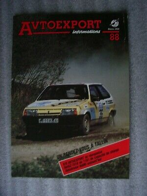 88 Strict Avtoexport Informations 1-1988 French Edition No informiert / Round-up