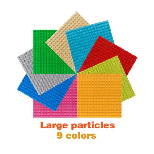 Blocs de construction grande taille DUPLO base plaques À faire soi-même partiale plaques Kids Learning