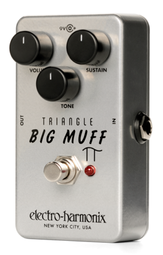 NEW Electro-Harmonix EHX Triangle Big Muff Pi Distortion   Sustainer Fuzz RI ...