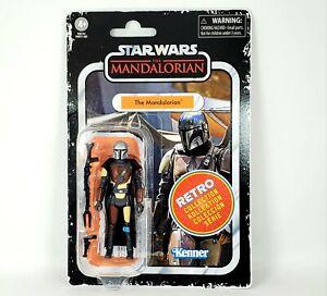 "Star Wars Mandalorian Action Figure RETRO 3.75"" Kenner Hasbro Din Djarin NEW"