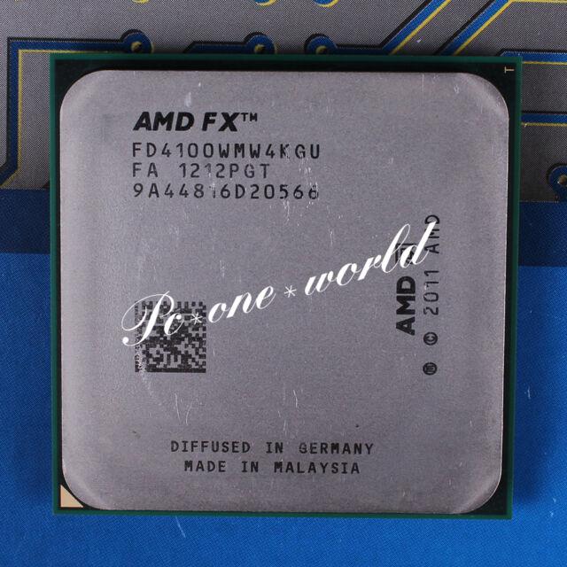 100% OK FD4100WMW4KGU AMD FX 4100 3.6 GHz Quad-Core Processor CPU
