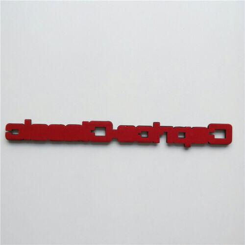 Custom 1977-90 CAPRICE CLASSIC NAMEPLATE TRUNK EMBLEM BADGE Brougham