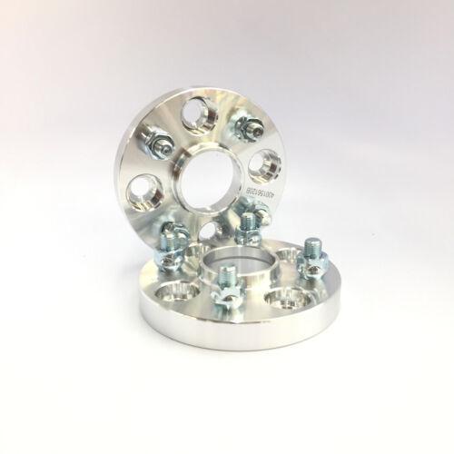 "2pc 20mm 0.787/"" Espaçadores De Roda4x100 Hub hubcentric 59.1mm12x1.25 Tachas"