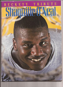 1994-Beckett-Tribute-Shaquille-O-039-neal-Magazine-Orlando-Magic
