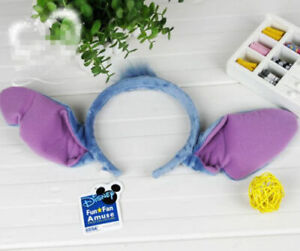 Disney Stitch Ears Headband Party Cosplay Gift Kids Adult