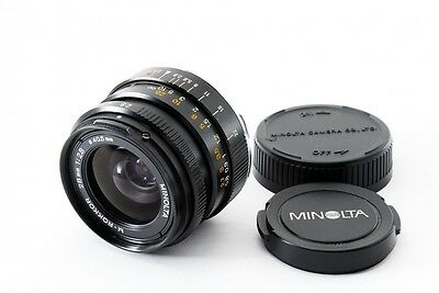 Minolta M ROKKOR 28mm f/2.8 MF Lens for Leica CL CLE From Japan