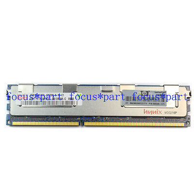 Hynix 4GB PC3-10600R DDR3 1333 MHz CL9 ECC RDIMM Memory REG Registered 240-pin