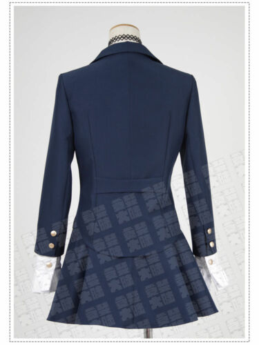 Details about  /Anime Kiznaiver Sonozaki Noriko School Uniform Cosplay Costume
