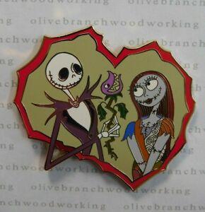 Disney Auction Valentine S Day Jack Sally Heart Nightmare Before Christmas Pin Ebay