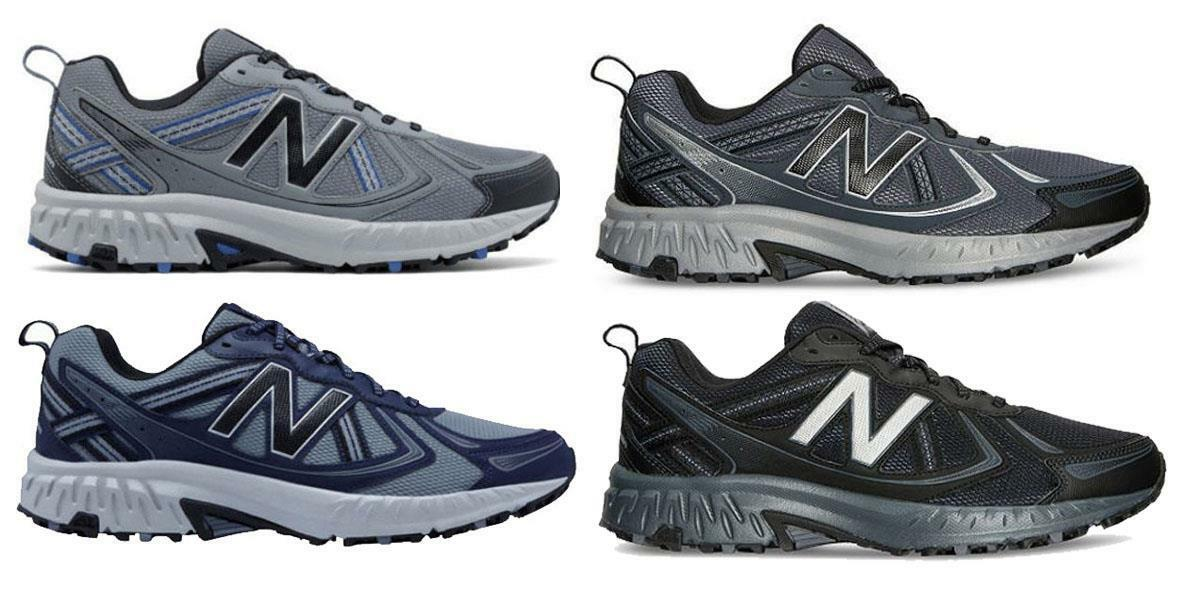 NEW BALANCE Med hommes Breathable Athletic Trail Running Sneakers, Med BALANCE & X Wide 4E 037218