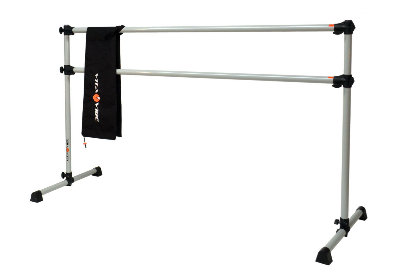 Ballet Barre DBNB 5 5 FT (environ 1.52 m) Portable Double Barre avec Sac-Stretch Dance Bar-NEUF