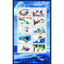 Bloc Feuillet BF76 - Collection jeunesse - Sports de glisse - 2004