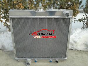 Aluminum-race-Radiator-For-Ford-Mustang-V8-3-Row-1967-1970-1968-1969-67
