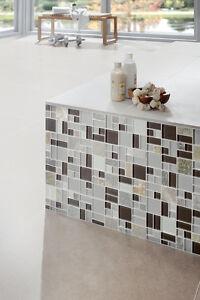 Wand-Verkleidung-Mosaik-Fliese-Crystal-Stein-mix-grau-braun-Art-88-0206-b