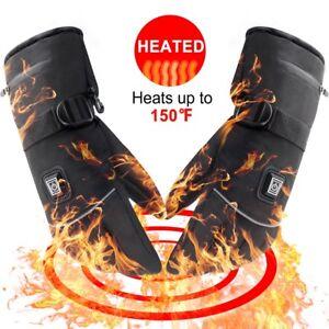 7.4V 2200MAH Smart Heated Gloves Men Women Winter Electric Heat Warm Sport Glove