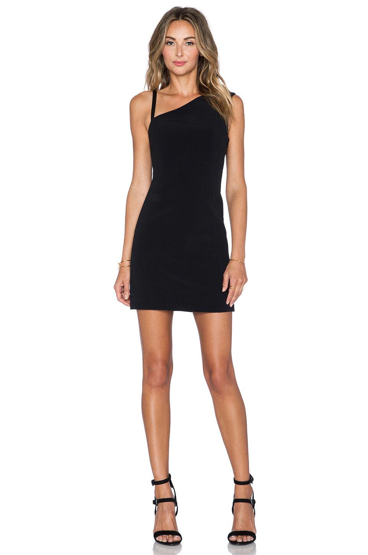 NWT  GRACE MMXIII 'Barni' schwarz Mini Dress, US Größe 2 MSRP