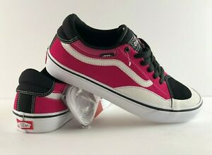 76a40dcb49 Image is loading Vans-TNT-Advanced-Prot-Black-Magenta-White-Shoes-