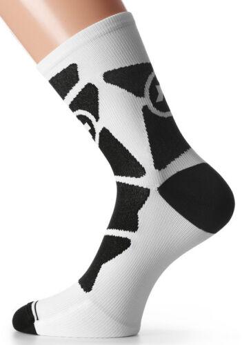Assos Equipe G1 Bike Socks White Panther