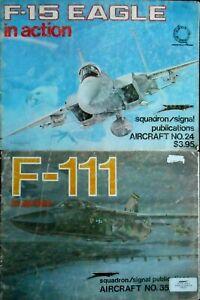 +++ F-15 Eagle & F-111 + Squadron Signal Publications +++-afficher Le Titre D'origine