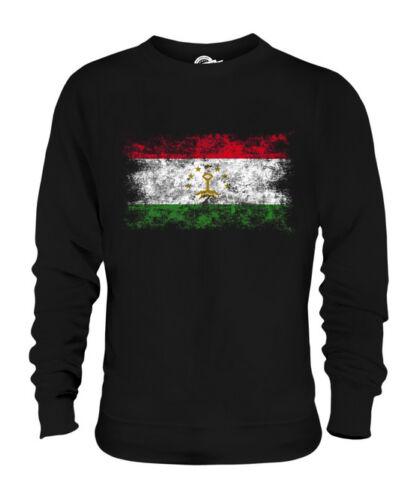 Tagikistan Consumato Bandiera Tajikistani Maglione Regalo Maglia Unisex Effetto rErwdzqB