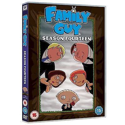 FAMILY GUY COMPLETE SERIES 14 DVD BOX SET All Episodes Season New Sealed UK