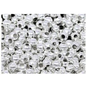 2000PCs-Silver-Plated-Smooth-Ball-Spacers-Beads-2-4mm-U3R1-G7N3-U3W6