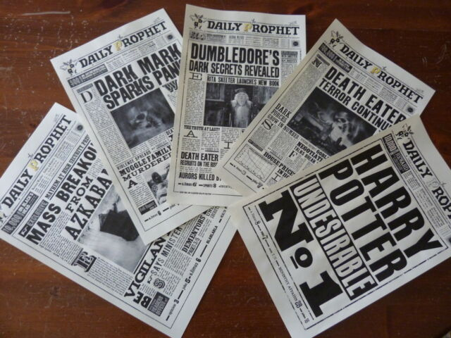 Harry Potter N1: 5 pages from the Daily Prophet