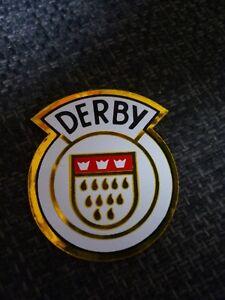 Details Zu Derby Fahrrad Aufkleber Steuerkopfschild Rund Wappen Schwarzrotgoldweiß Retro