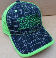 Arctic Cat Neon Lime Black Performance Team Arctic Atv Hat Cap