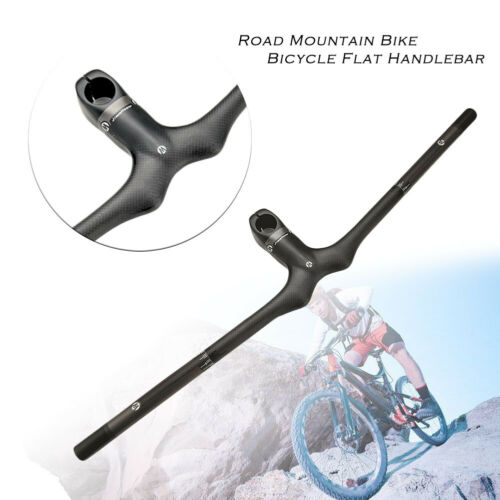 Details about  /JIMAITEAM Flat Handle Bar For Cyclocross Mountain Bicycle Handlebar Carbon Fiber