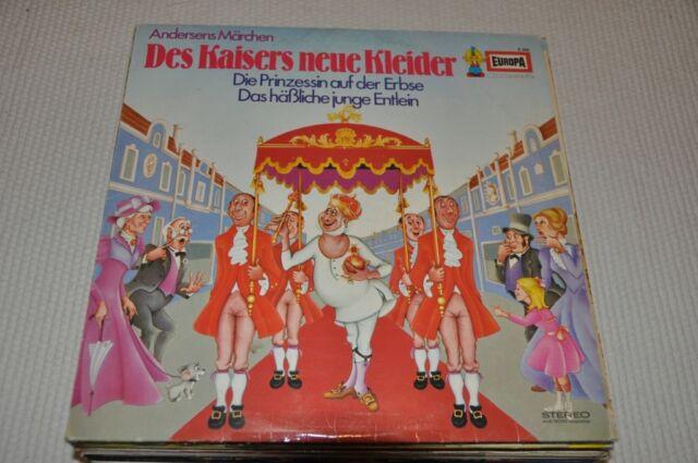 EUROPA - Kaisers neue Kleider/Prinzessin auf der Erbse - Märchen Album Vinyl LP