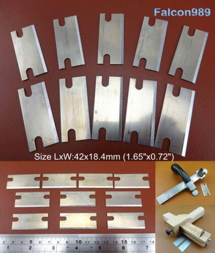 Leather Craft pareur Beveler dentellière Australian cableur Cutter Couteau Lames
